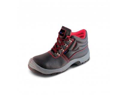 Bezpečnostní boty T1A, kožené, velikost: 39, kat. S1P SRC DEDRA BH9T1A-39