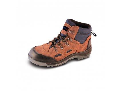 Bezpečnostní boty T2A, semišové, velikost: 47, kat. S1P SRC DEDRA BH9T2A-47