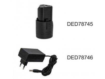 Akumulátor 1,5Ah, DED7874 DEDRA DED78745