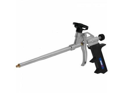 Pistole do montážní pěny, kovový, mosazná dýza DEDRA 1201-21
