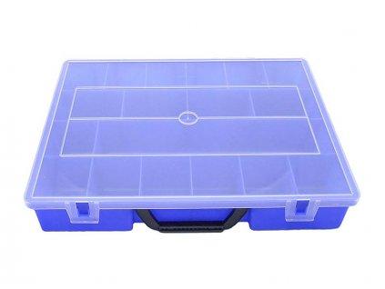 Plastový organizér 365x290x65mm – 18 pozic
