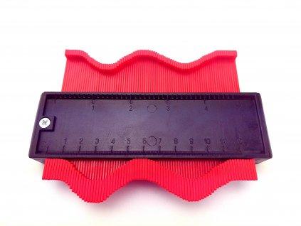 Šablona na profily magnetická 125x100x20mm