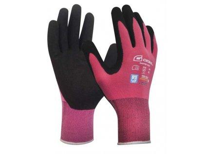 Pracovní rukavice MASTER FLEX LADY velikost 6  - blistr GEBOL 709942