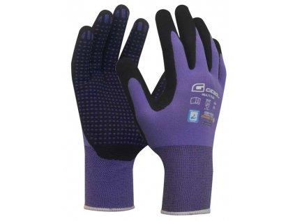 Pracovní rukavice MULTI FLEX LADY velikost 8  - blistr