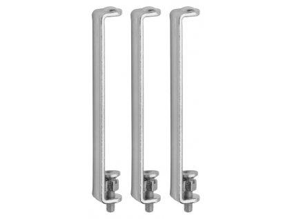 ROSTEX - pojistka dveřních závěsů - sada po 3 kusech
