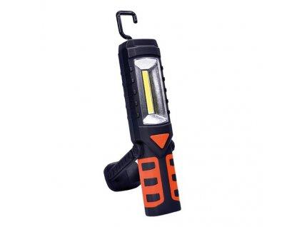 Solight multifunkční nabíjecí LED lampa, 3W COB, 250 + 40lm, Li…