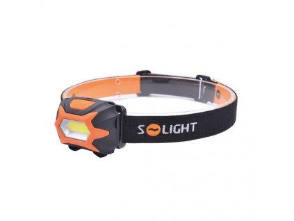 Čelová LED svítilna, 3W COB, 3x AAA Solight WH25