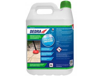 Přípravek na mytí kamenných nebo kameninových teras  5L DEDRA DED8823A65