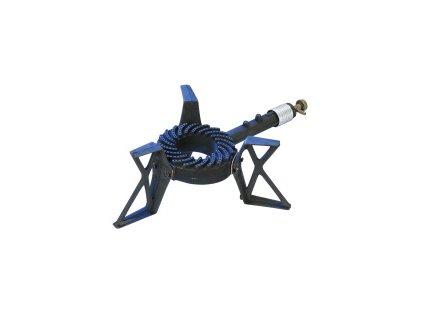 Plynový průmyslový vařič určený pro velkokapacitní ohřev Meva TRINO