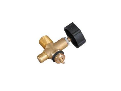 Jednocestný ventil PB se závitem G3/8L Meva - nástavec na 2kg láhev