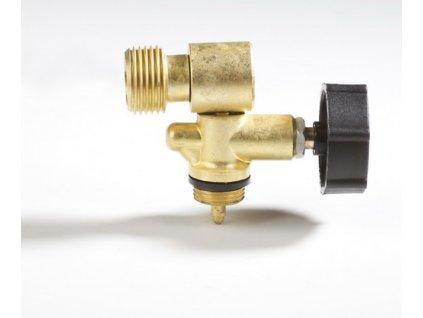 Jednocestný ventil PB W 21,8L do boku - nástavec na 2kg láhev MEVA 2156UVB