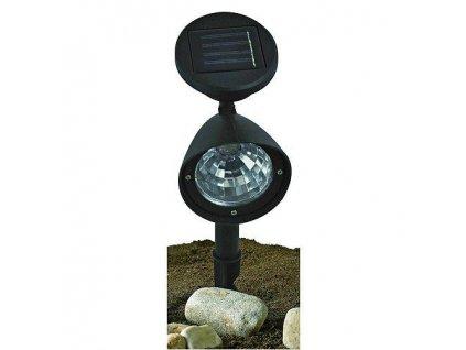 Zahradní směrová solární lampa 140 mm - 3xLED