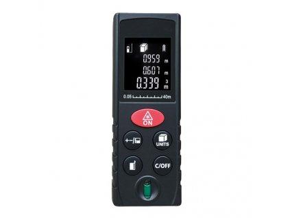Laserový měřič vzdálenosti, 0,05 - 40m Solight DM40