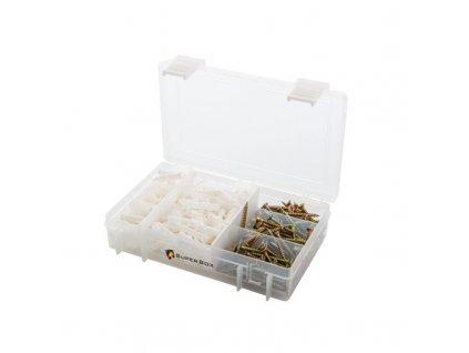 Super Box se spojovacím materiálem pro průměr vrtaného otvoru 6 mm