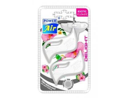 Osvěžovač do umyvadla Delight Exotic Flower POWER AIR DL-40