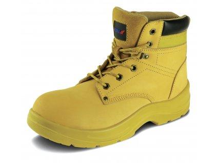 Bezpečnostní boty T5 nubuck velikost: 45, kat. S3 SRC DEDRA BH9T5K-45