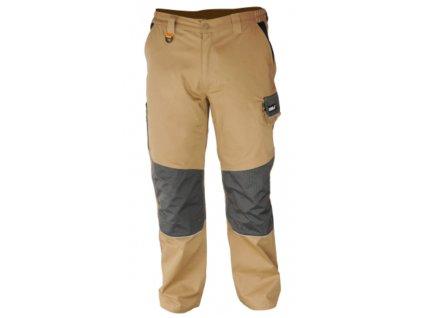 Kalhoty ochranné velikost M/50, bavlna+spandex, gram.270g/m2 DEDRA BH42SP-M