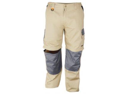 Kalhoty ochranné velikost L/52, 100% bavlna gram.270g/m2 DEDRA BH41SR-L