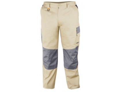Kalhoty ochranné velikost L/52, 100% bavlna gram.270g/m2 DEDRA BH41SP-L