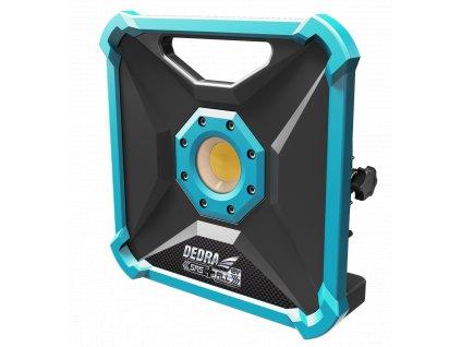 pol pl Lampa warsztatowa akumulatorowa 18V DEDRA SAS ALL DED7071 COB LED 1000 2000 Lumenow 6500K 23021 1