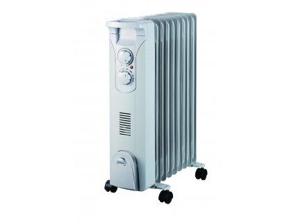 Olejový radiátor 2000W+ventilátor 400W DESCON DA-J2052F