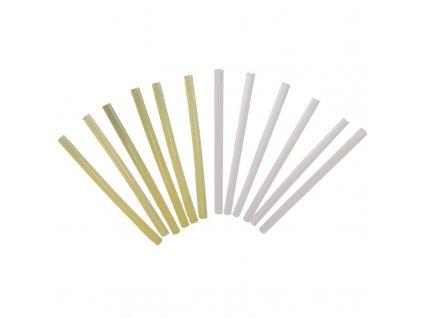 Lepicí tyčinky bílé 11,2x200 mm, 6 ks DEDRA DED7564