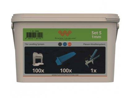 System Leveling - aplikační SET 100/100/1 - 1mm