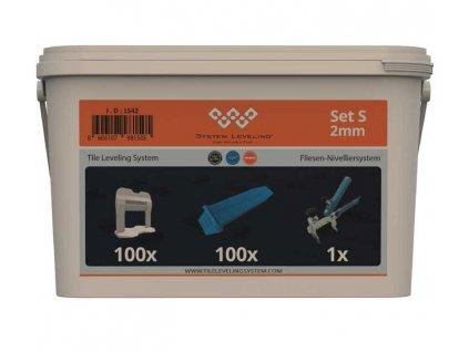 Aplikační SET 100/100/1 - 2mm System Leveling D.O.O. SL1542
