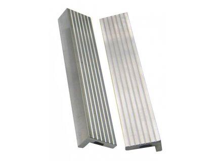 YORK - vložky do čelistí ke svěráku 125 mm (2ks) - AL hliníkové