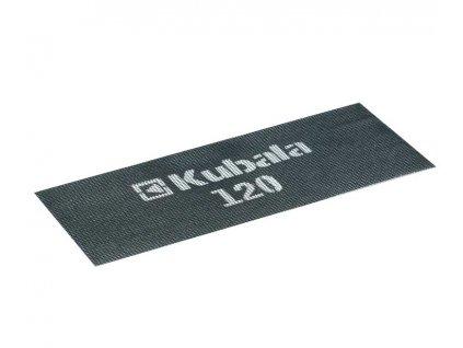 Brusná mřížka 105x280 mm, gramáž 120, kompl. 5 ks KUBALA 1678