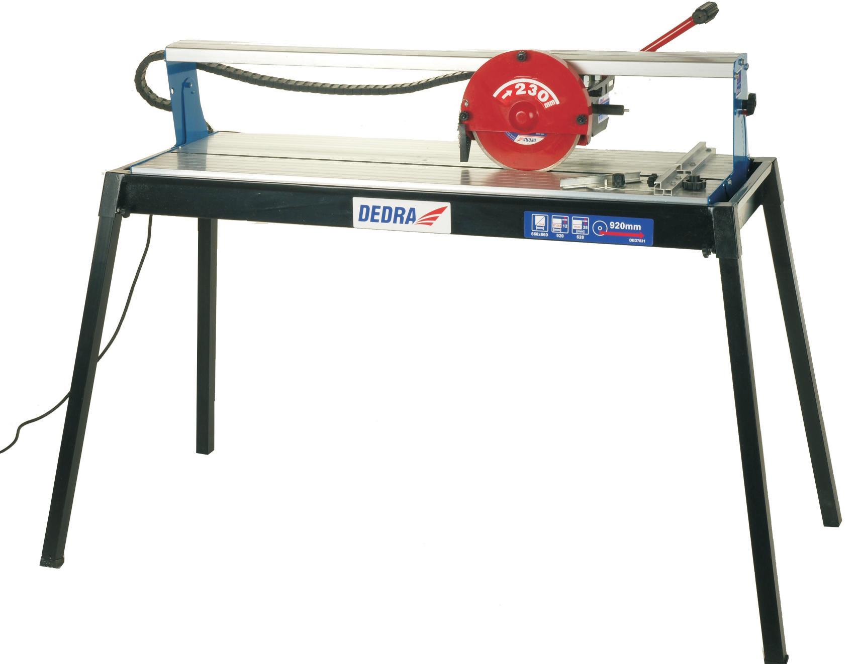 Elektrická řezačka na dlažbu a obklady 800 W,kotouč 230 x 25,4 mm - řez 930 mm