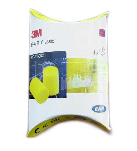 Špunty do uší 3M; E.A.R. CLASSIC - ochrana sluchu - 1 pár