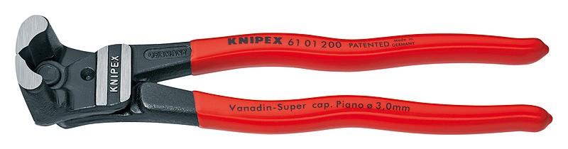 Čelní pákové štípací kleště Knipex 200 mm 6101200