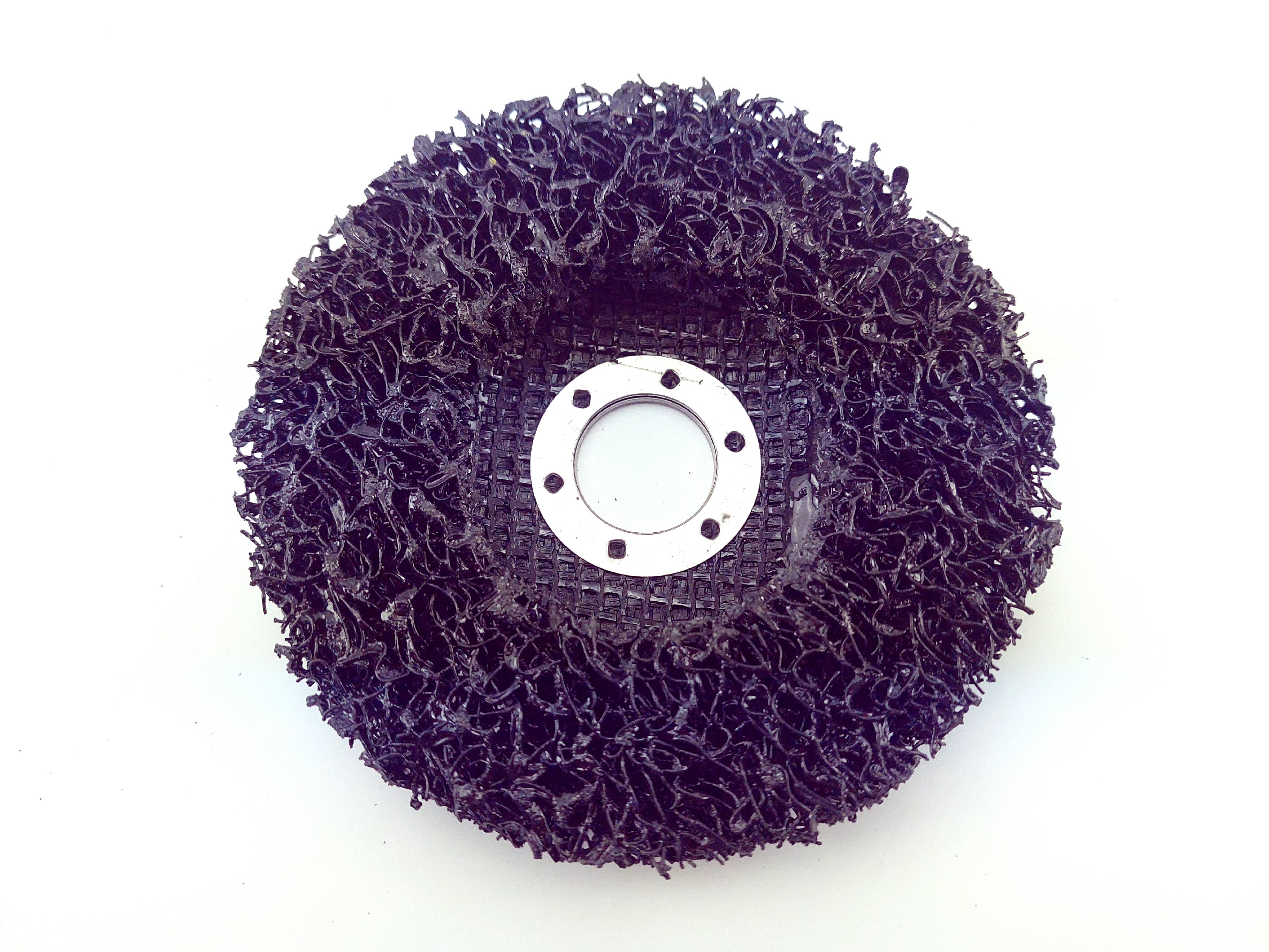 Porézní čistící a brusný kotouč do úhlové brusky 115x22,2mm