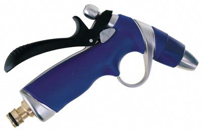 Regulovatelná zahradní stříkací pistole; kovová