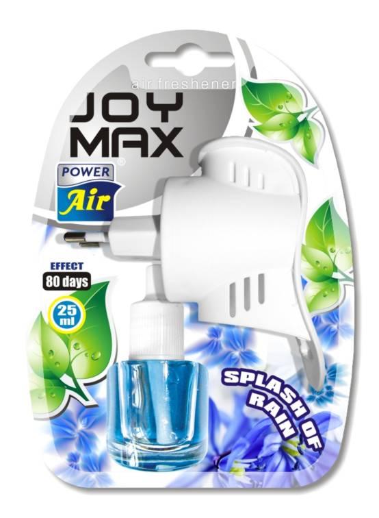 Dekorativní kapalinový osvěžovač vzduchu JOY MAX Splash of Rain