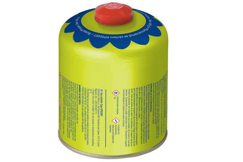 Plynová kartuše Meva 450 g - ventil, závit