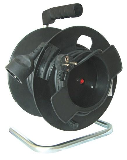 Prodlužovací kabel na bubnu 50m, 1x zásuvka