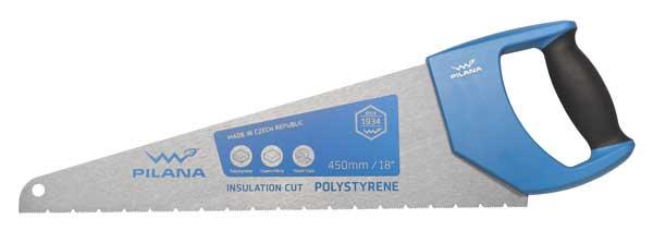 Pila na polystyren a izolační materiály 450 mm; Pilana