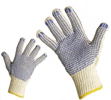 Bezešvé pletené rukavice velikost 8