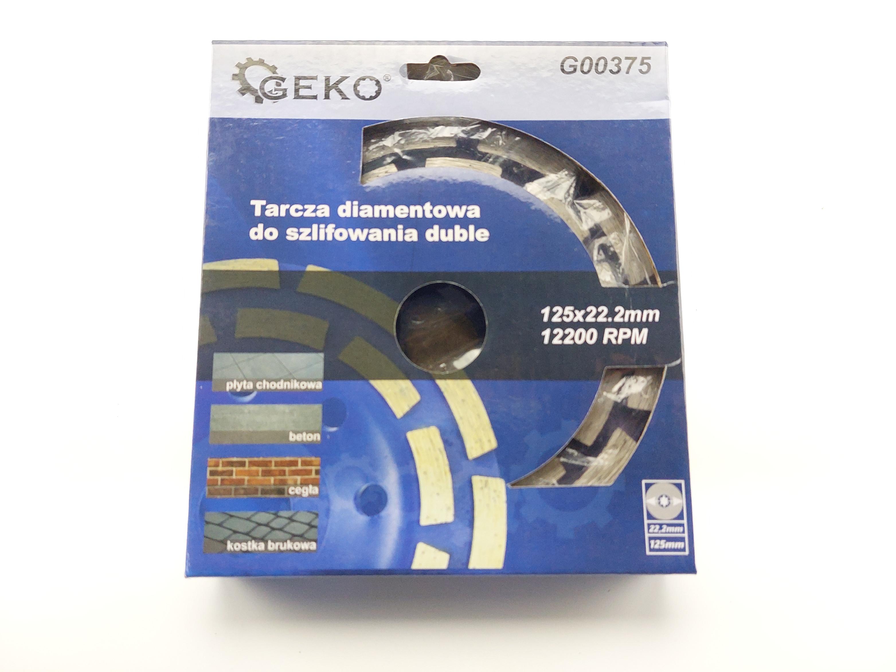 Diamantový brusný kotouč na beton dvojitý segmentový - 125 x 22,23 x 5 mm