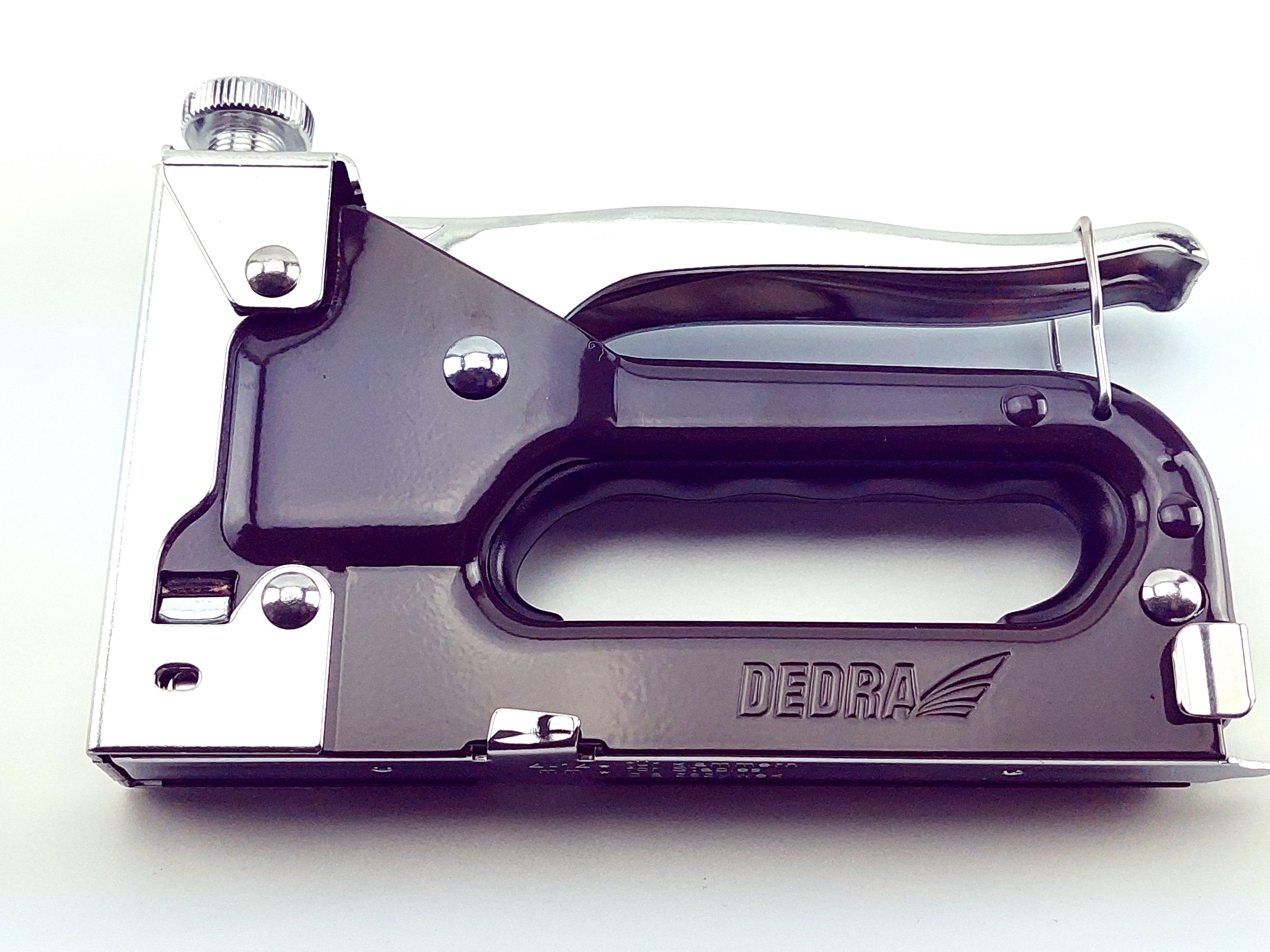 Ruční sponkovačka čalounická 4-14 mm, regulace síly - spony D53