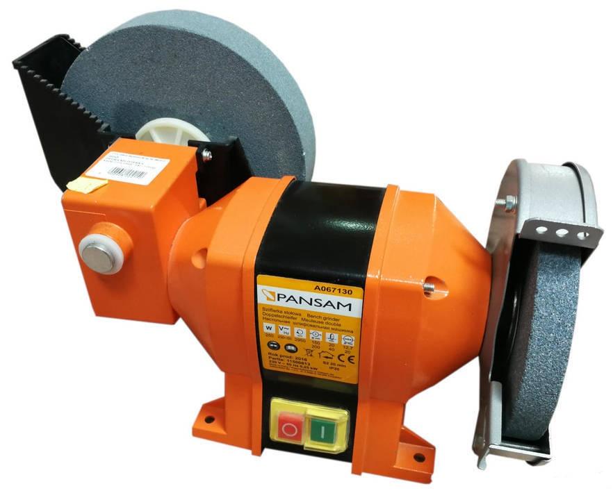 Stolní bruska 250 W, 150x20 mm/200x20 mm