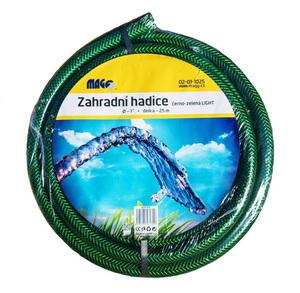 """Zahradní vyztužená hadice na vodu černo-zelená LIGHT 1"""" - 25m"""