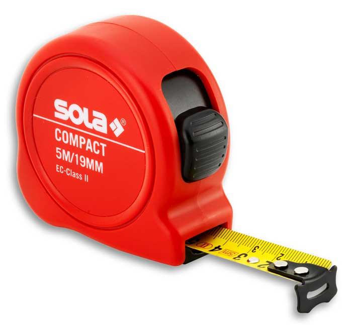 SOLA - Compact CO 5m x 19mm svinovací metr