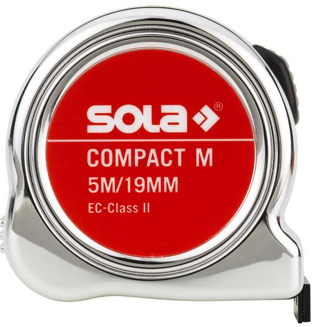 SOLA - Compact M CO 5m x 19mm svinovací metr s magnetem