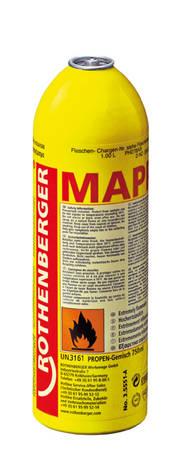Speciální plynová směs Rothenberger v kartuši pro pájení MAPP 750ml/411g