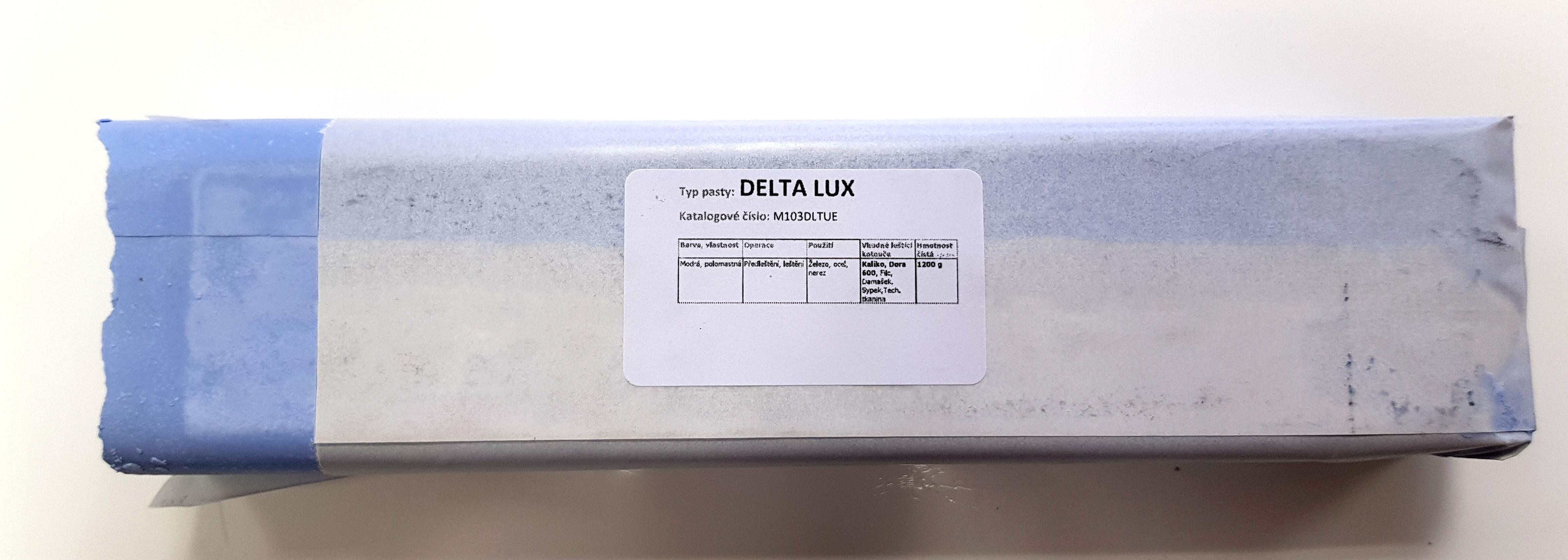 Tuhá pasta DELTA LUX na předleštění a leštění - 0.6kg