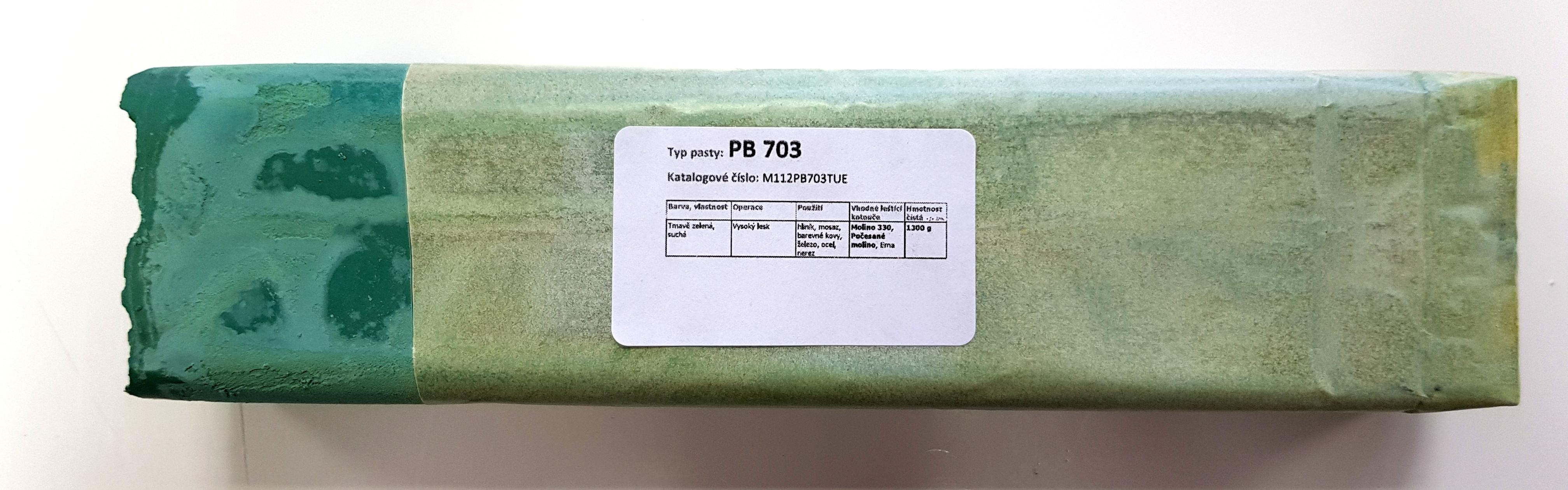 Tuhá pasta PB 703 na vysoký lesk - 1.3kg