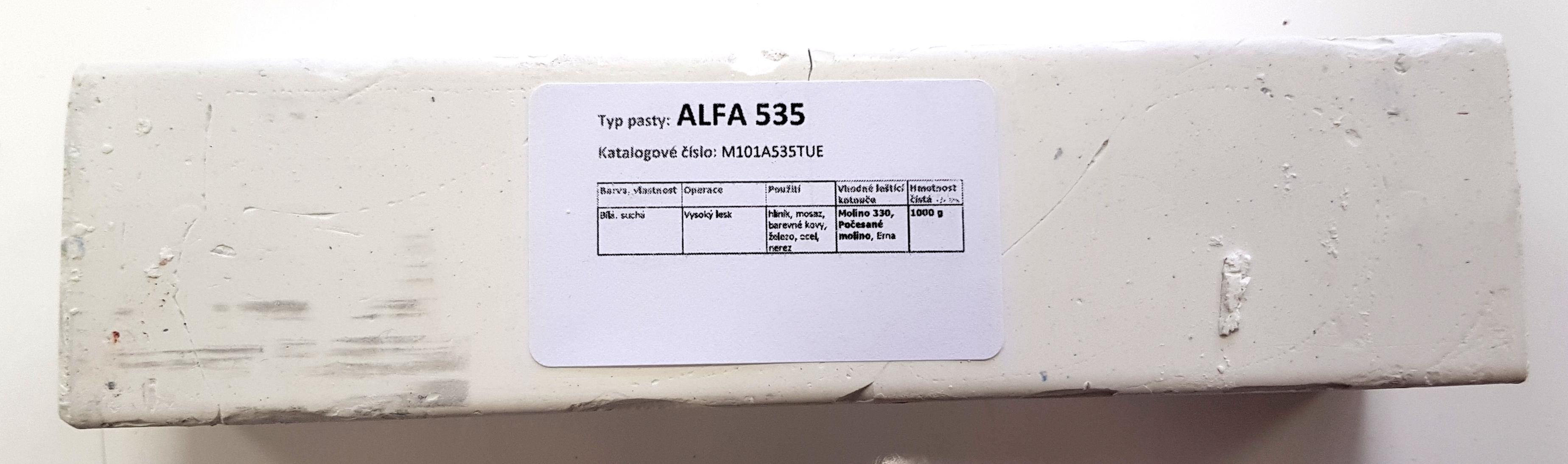 Tuhá pasta ALFA 535 na vysoký lesk - 1kg